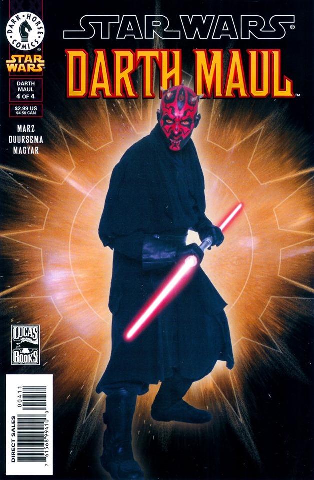 Star Wars: Darth Maul 4 (Photo Cover)