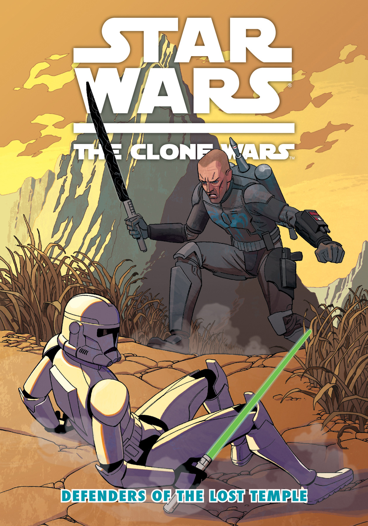 Star Wars The Clone Wars: Defenders of the Lost Temple