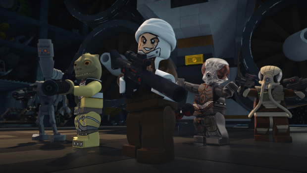 Lego Star Wars The Freemaker Adventures: Return to the Wheel