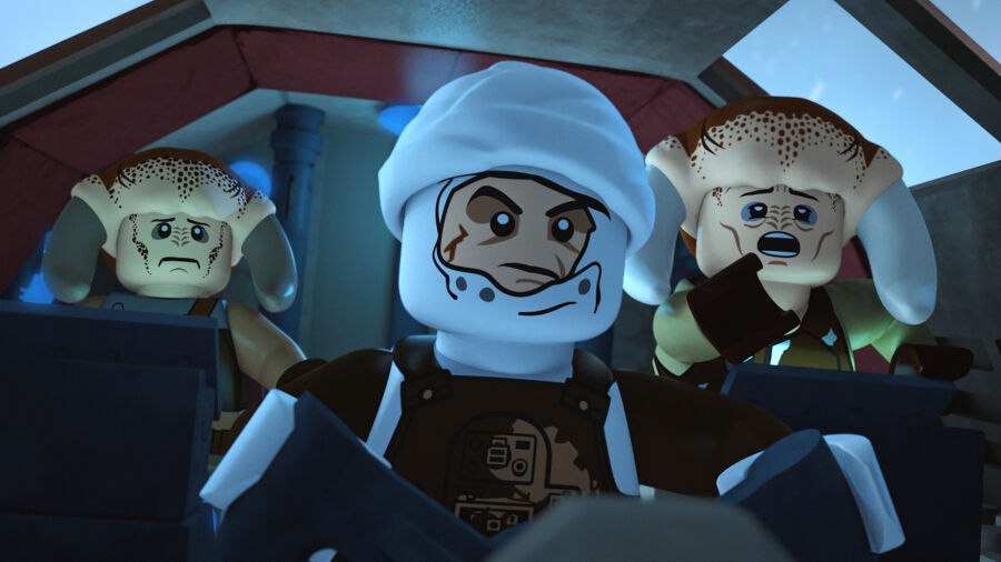 Lego Star Wars The Freemaker Adventures: Showdown on Hoth