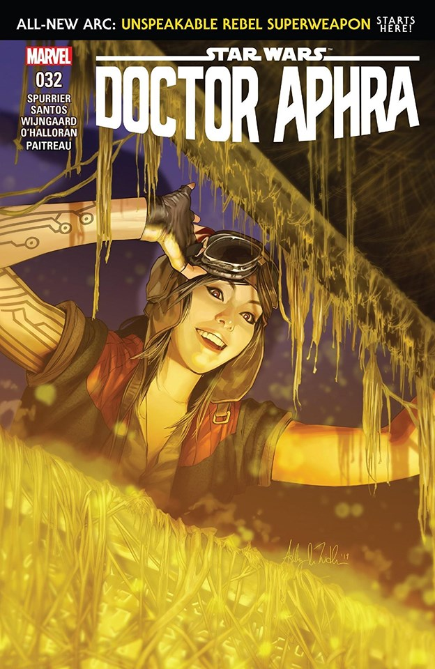Star Wars Doctor Aphra: Unspeakable Rebel Superweapon