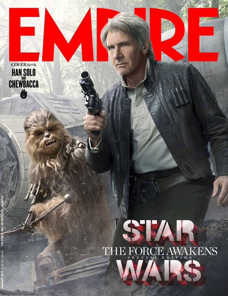 Empire Magazine 319 (Han Solo and Chewbacca - 6 of 6)