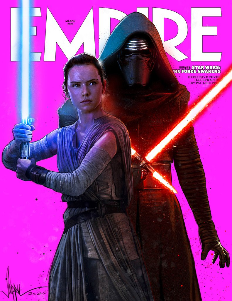 Empire Magazine March 2020 (Rey and Kylo Ren)