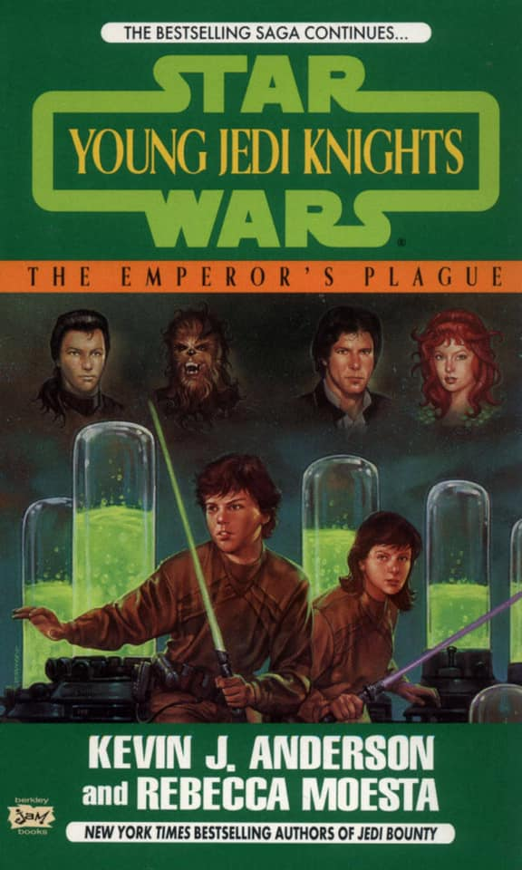Star Wars Young Jedi Knights: The Emperor's Plague