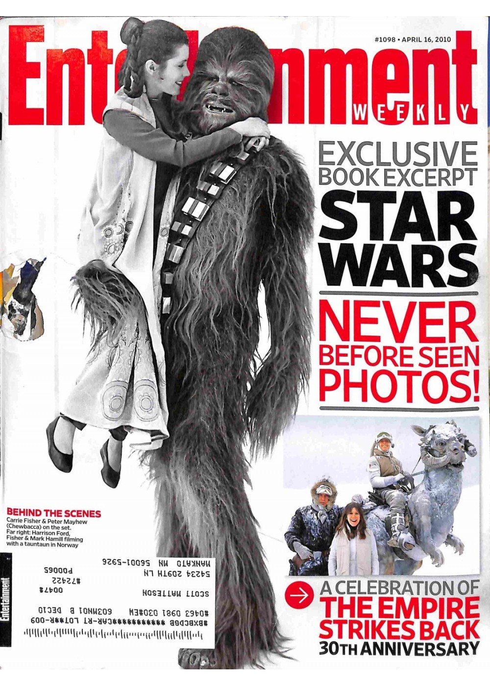 Entertainment Weekly April 16, 2010