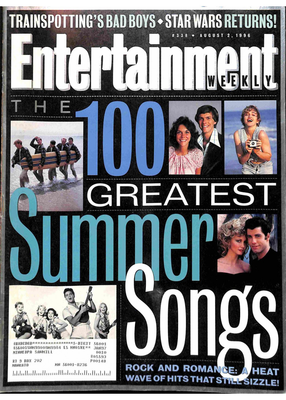 Entertainment Weekly August 2, 1996