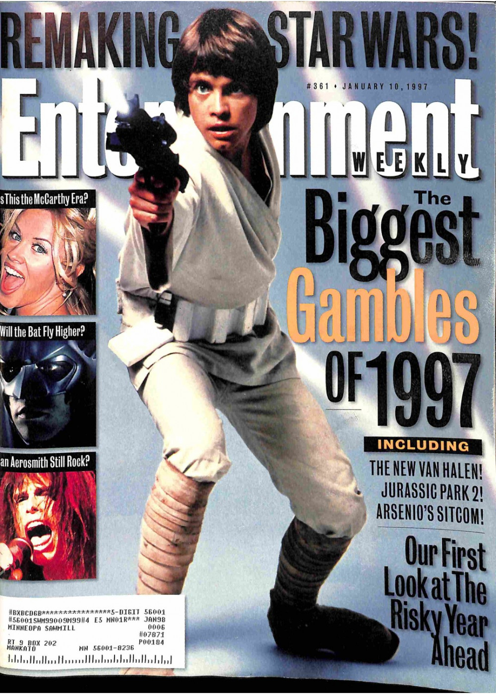 Entertainment Weekly January 10, 1997