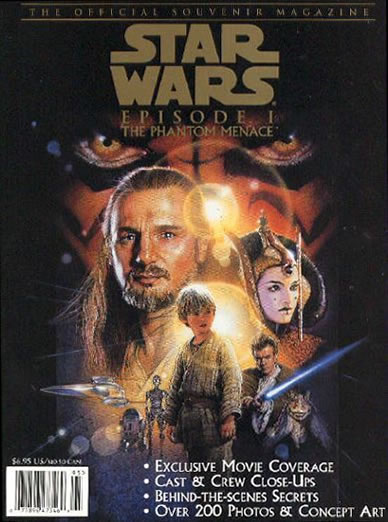 Star Wars Episode I: The Phantom Menace Official Souvenir Magazine
