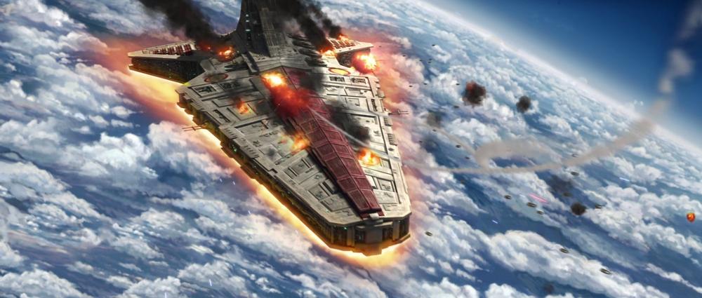 Star Wars The Clone Wars: Jedi Crash