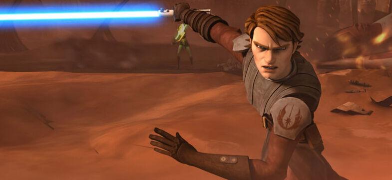 Star Wars The Clone Wars: Landing at Point Rain