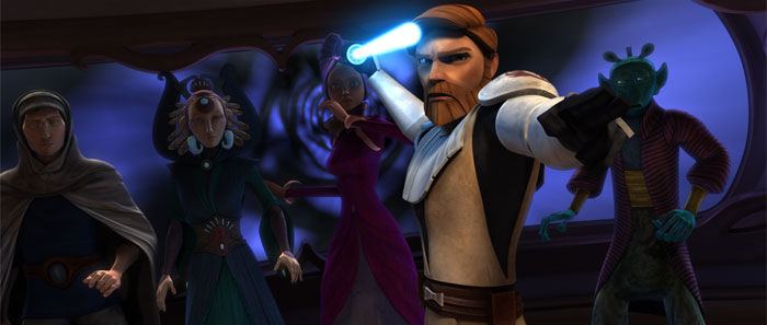 Star Wars The Clone Wars: Voyage of Temptation
