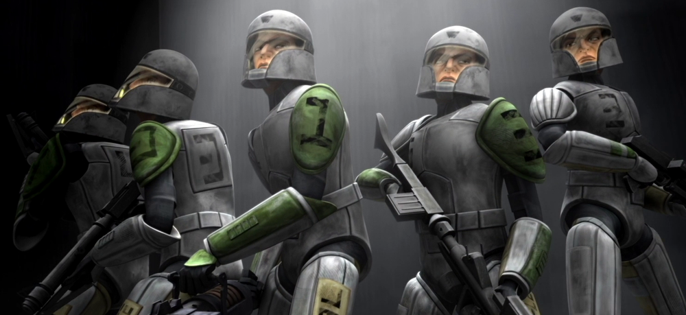 Star Wars The Clone Wars: Clone Cadets