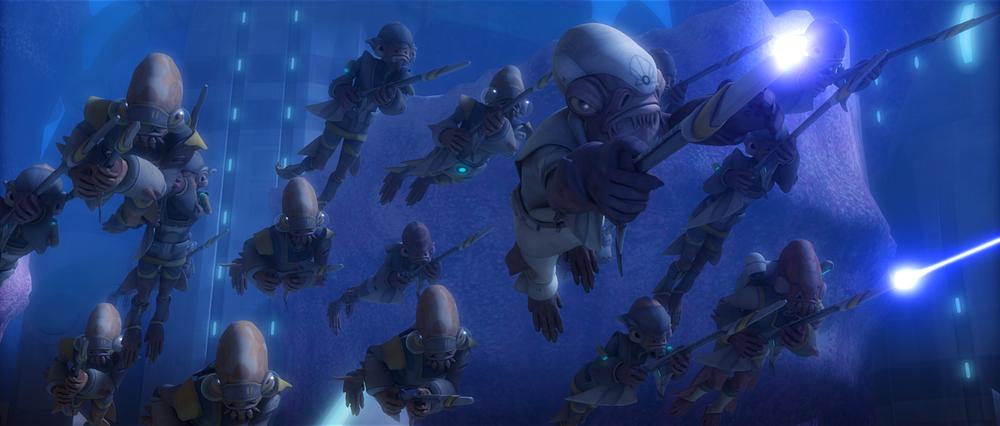 Star Wars The Clone Wars: Water War