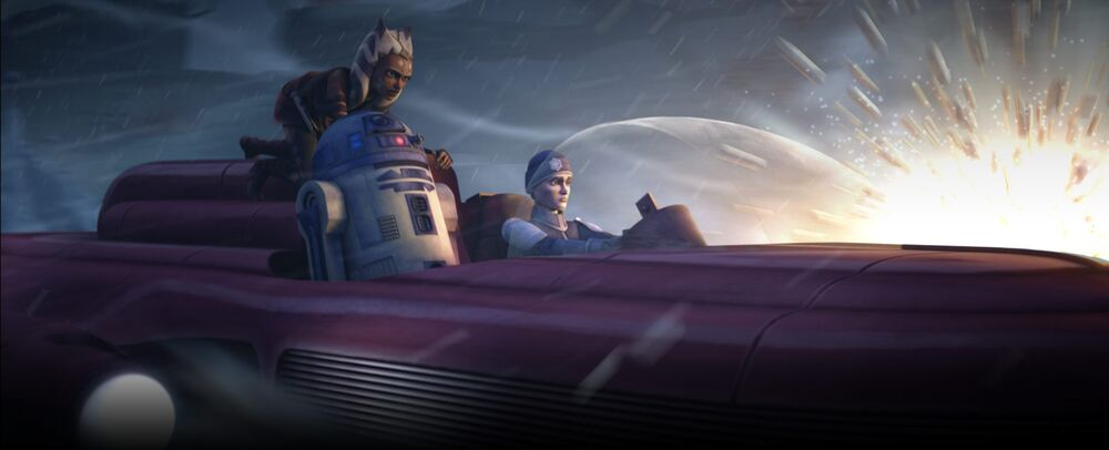 Star Wars The Clone Wars: A Friend in Need