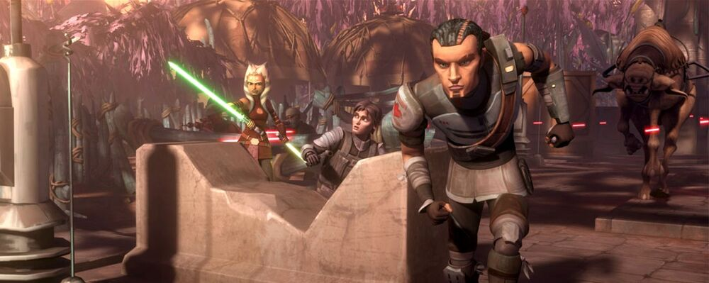 Star Wars The Clone Wars: A War on Two Fronts