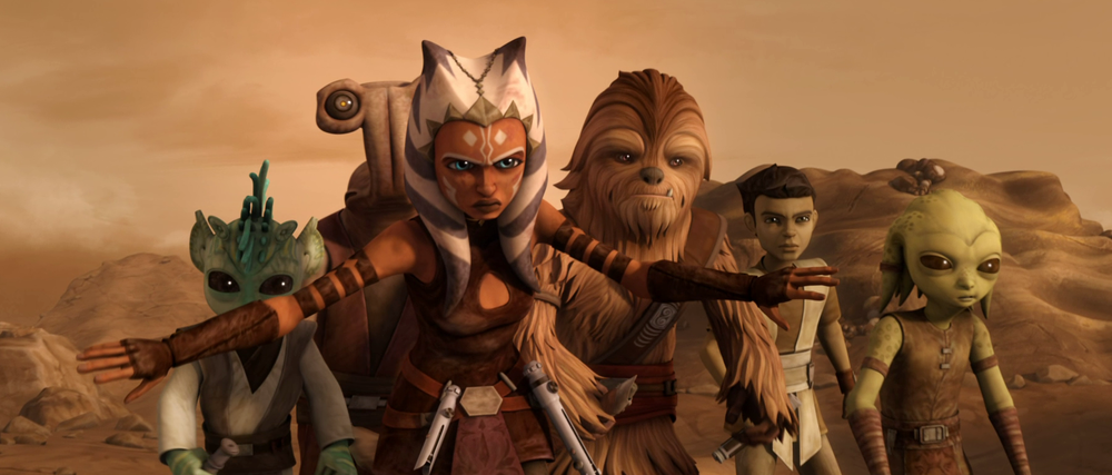 Star Wars The Clone Wars: A Necessary Bond