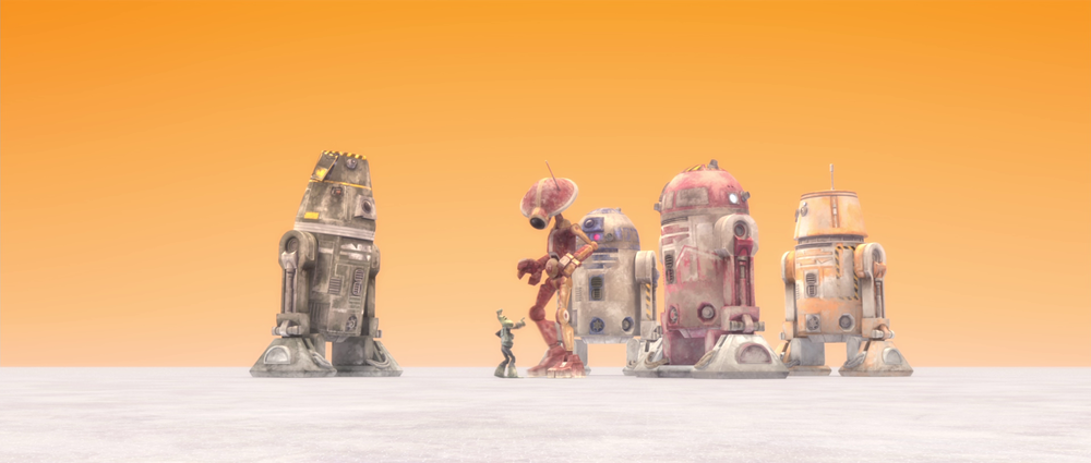 Star Wars The Clone Wars: A Sunny Day in the Void
