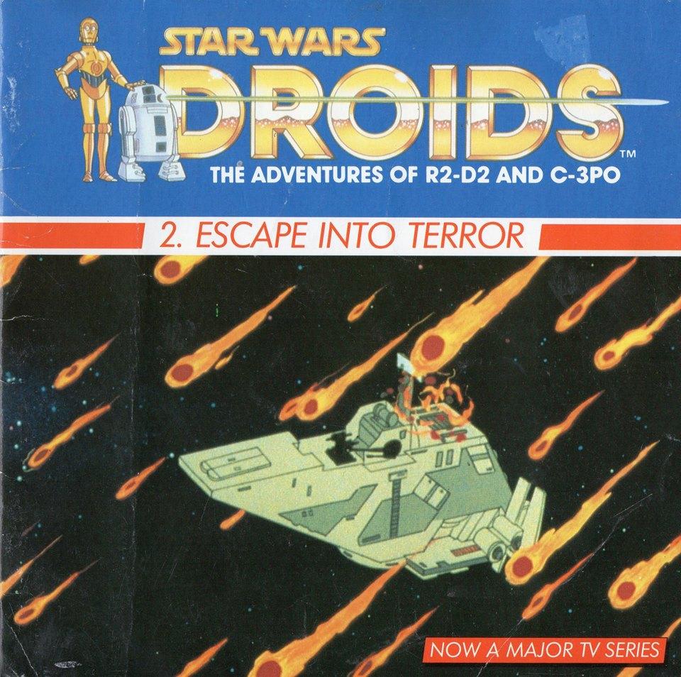 Escape into Terror: A Droid Adventure (Dragon Books)