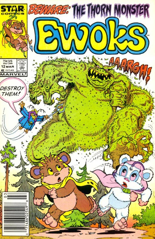 Ewoks 12: The Thorn Monster