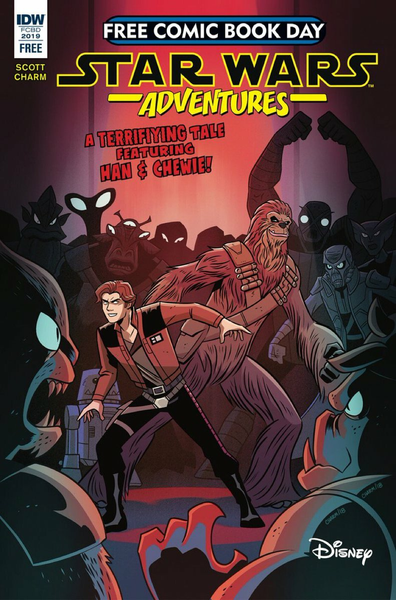 Star Wars Adventures: Droid Hunters (Free Comic Book Day 2019)