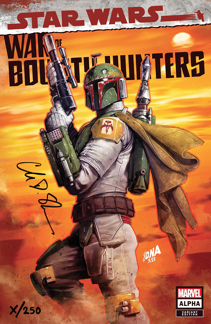 Star Wars: War of the Bounty Hunters Alpha - Comic Sketch Art Variant