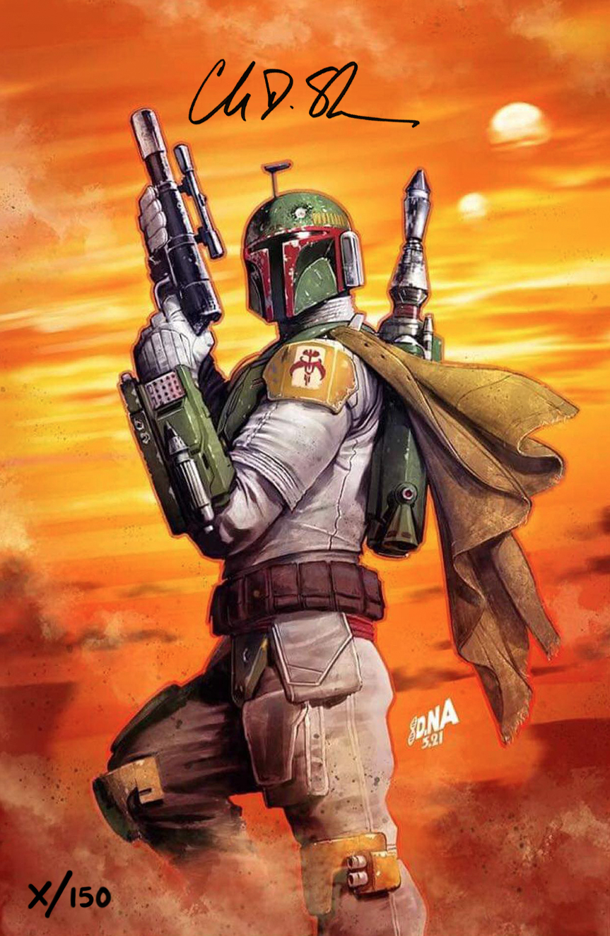Star Wars: War of the Bounty Hunters Alpha - Comic Sketch Art Virgin Variant
