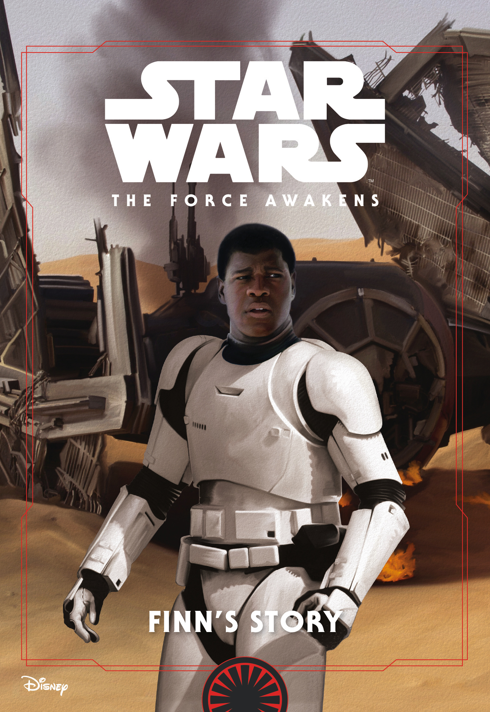 Star Wars The Force Awakens: Finn's Story