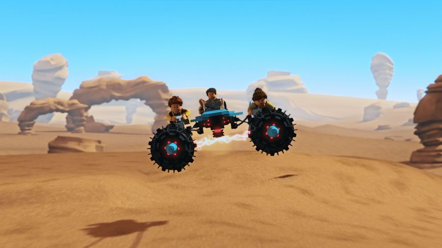Lego Star Wars The Freemaker Adventures: Race on Tatooine