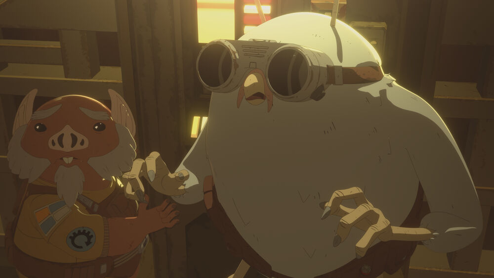 Star Wars Resistance: From Beneath