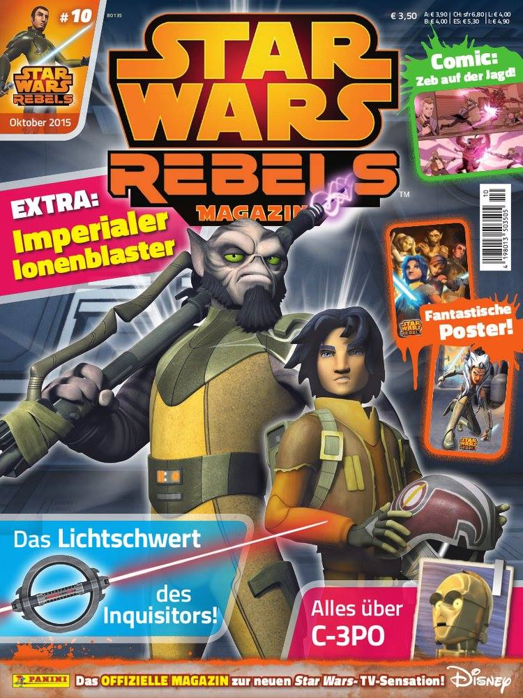 Star Wars Rebels Magazin 10 (Germany)