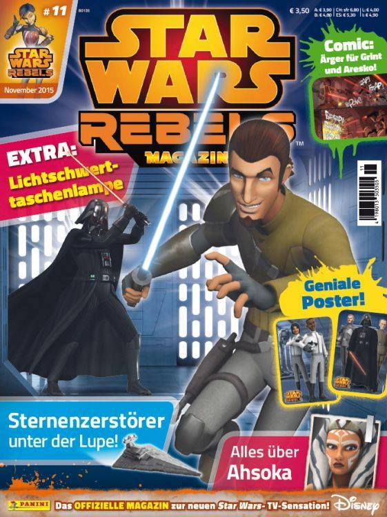 Star Wars Rebels Magazin 11 (Germany)