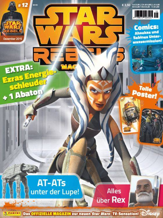 Star Wars Rebels Magazin 12 (Germany)
