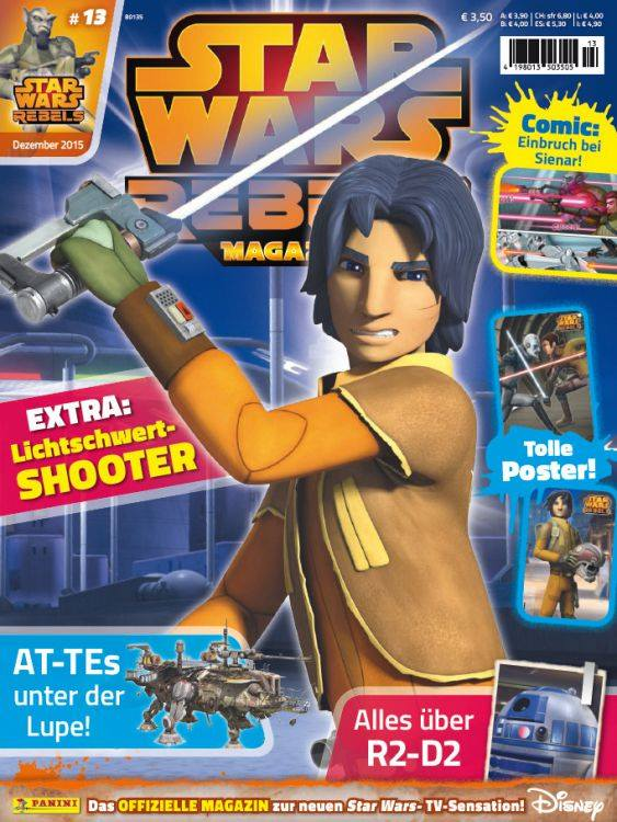 Star Wars Rebels Magazin 13 (Germany)