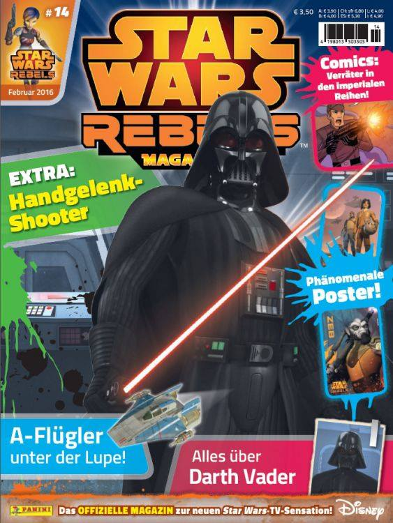 Star Wars Rebels Magazin 14 (Germany)