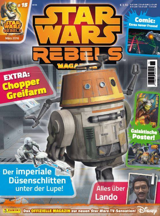 Star Wars Rebels Magazin 15 (Germany)