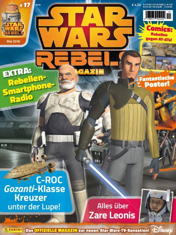 Star Wars Rebels Magazin 17 (Germany)