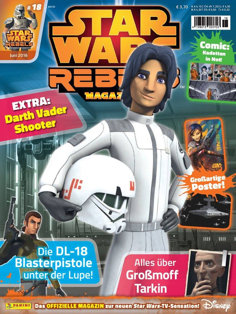 Star Wars Rebels Magazin 18 (Germany)