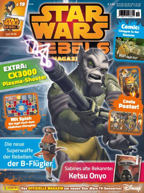 Star Wars Rebels Magazin 19 (Germany)