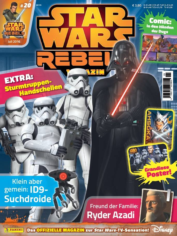 Star Wars Rebels Magazin 20 (Germany)