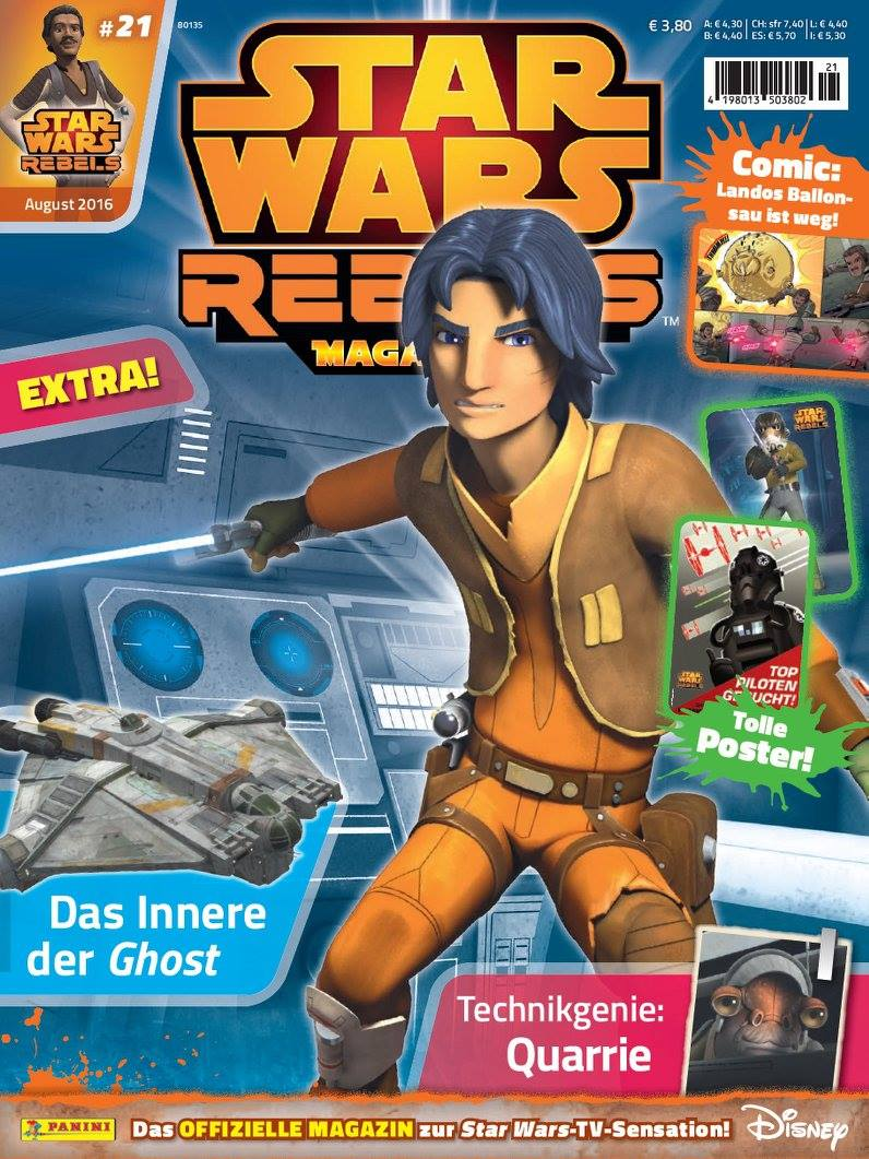 Star Wars Rebels Magazin 21 (Germany)