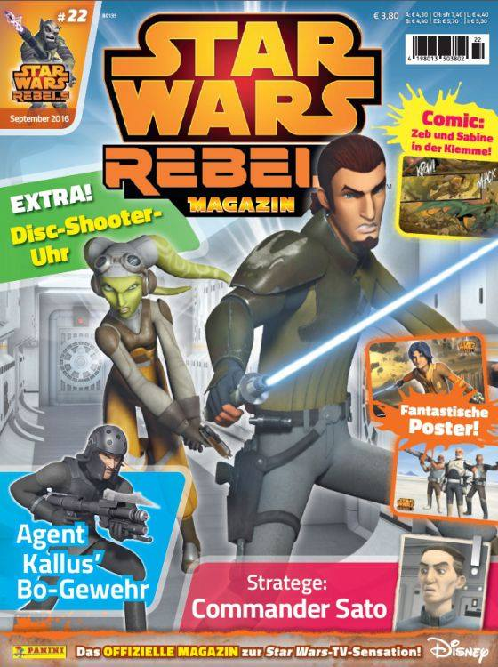 Star Wars Rebels Magazin 22 (Germany)