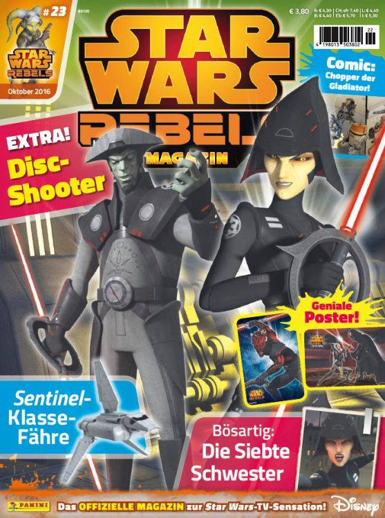 Star Wars Rebels Magazin 23 (Germany)