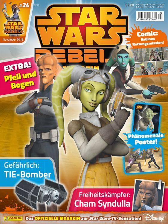 Star Wars Rebels Magazin 24 (Germany)