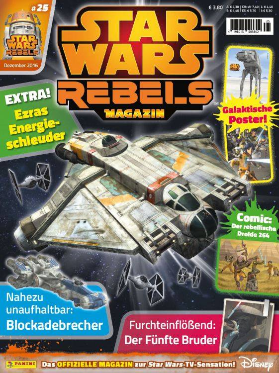 Star Wars Rebels Magazin 25 (Germany)