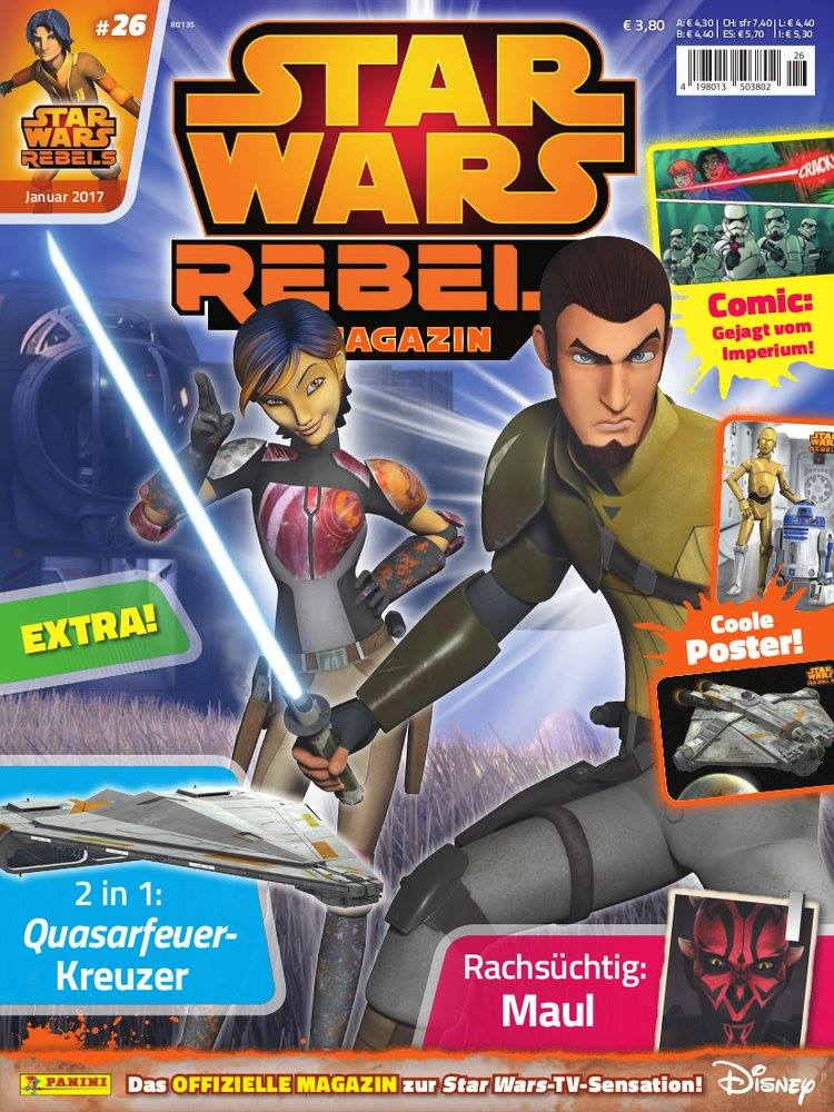 Star Wars Rebels Magazin 26 (Germany)