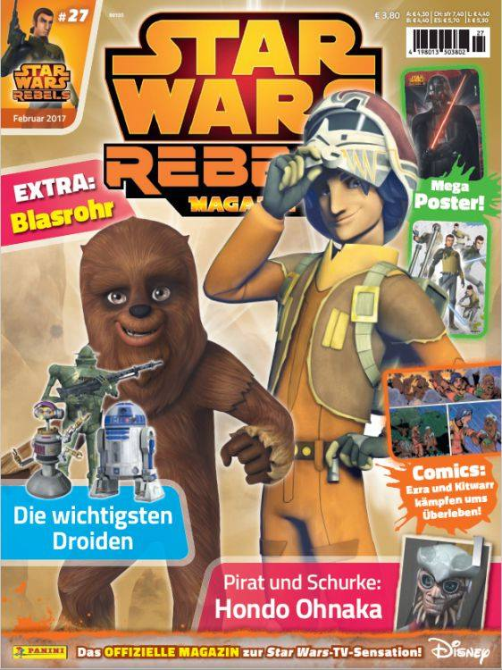Star Wars Rebels Magazin 27 (Germany)