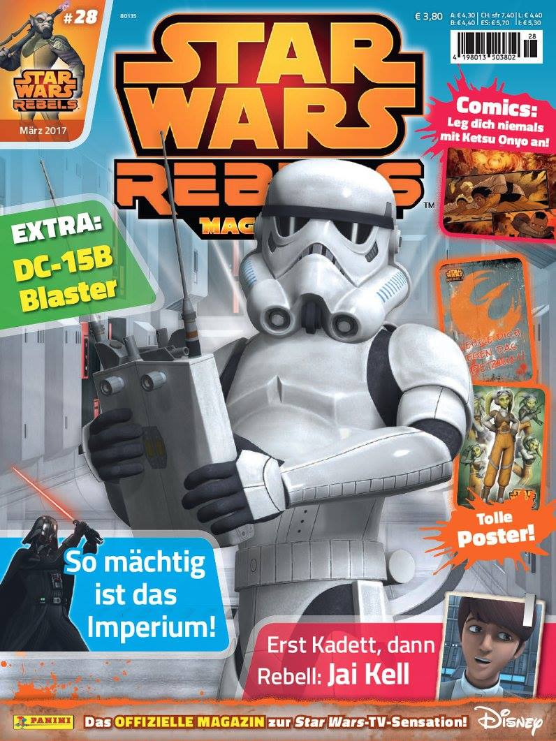 Star Wars Rebels Magazin 28 (Germany)
