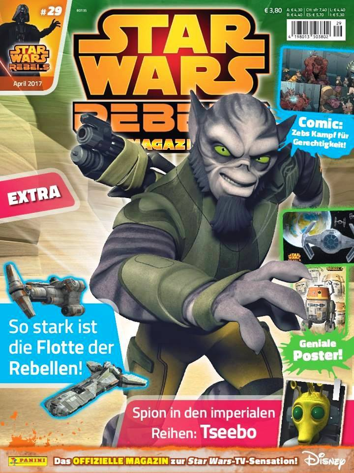 Star Wars Rebels Magazin 29 (Germany)