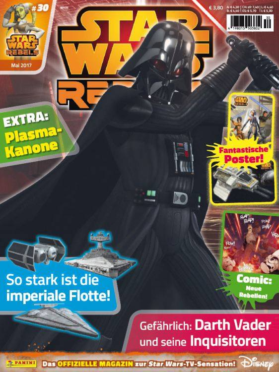 Star Wars Rebels Magazin 30 (Germany)