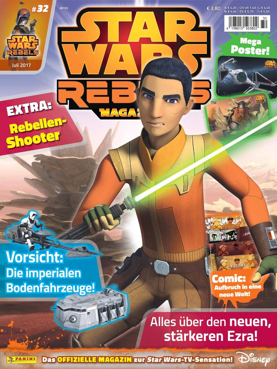 Star Wars Rebels Magazin 32 (Germany)